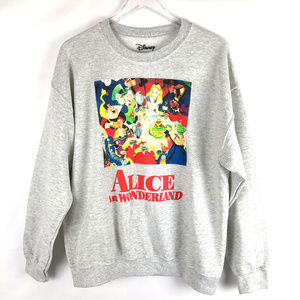 New Disney Alice in Wonderland Sweatshirt